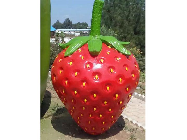 蔬菜雕塑制作廠家|濰坊哪家仿真蔬菜水果雕塑加工廠好