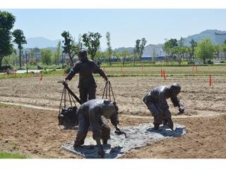 农耕人物雕塑公司_技艺精巧的农耕人物雕塑推荐