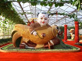 现代农业示范园景观供应-山东生态园景观雕塑市场价格