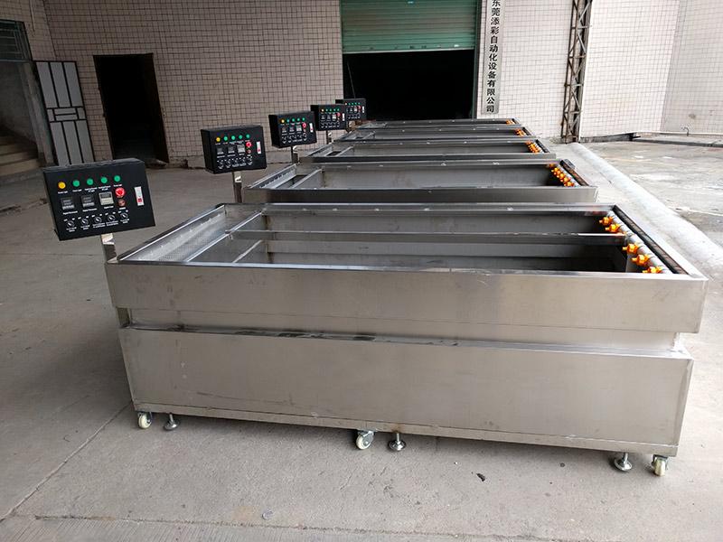 专业喷涂线厂家-东莞添彩自动化设备质量良好的水转印设备出售