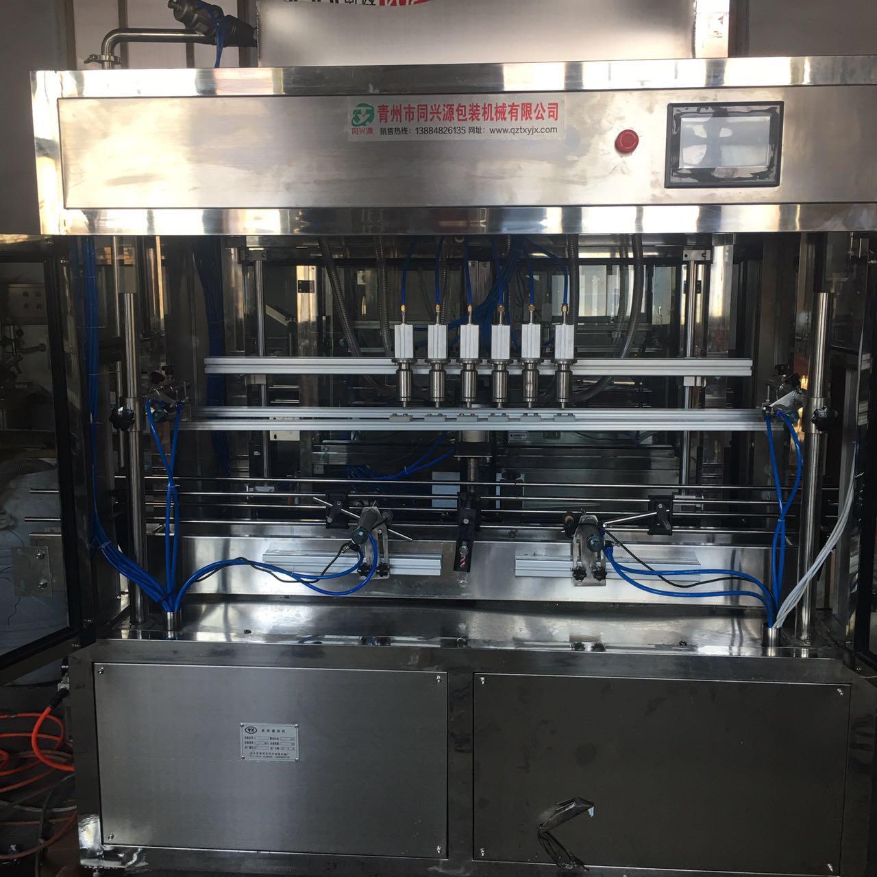 食用油专用灌装机厂家-山东效率高的食用油定量灌装机