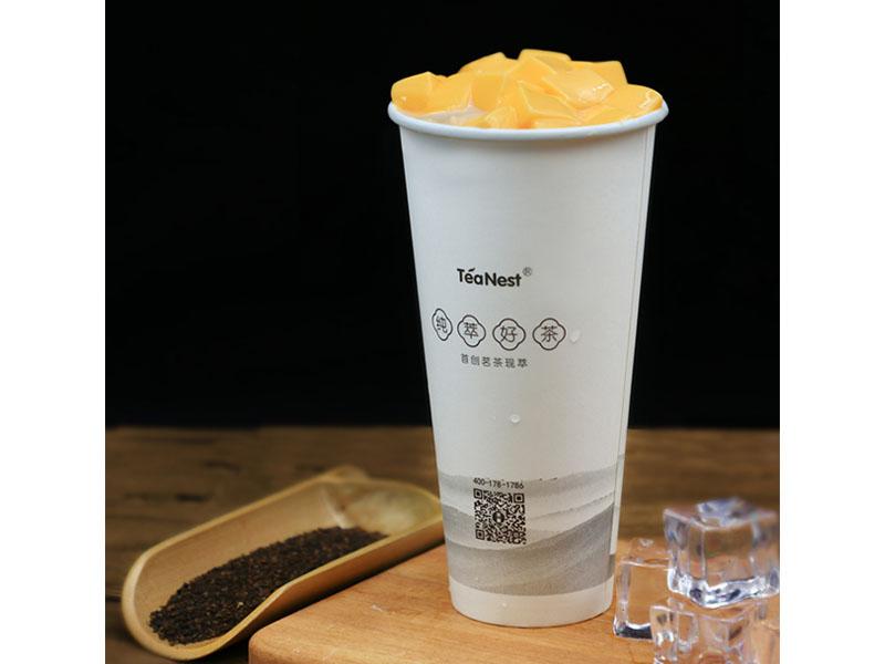 奶茶加盟排�I域鞭打了下去行-哥弟餐饮提供放心的》茶巢加盟