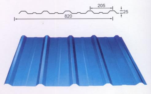 角驰820型彩钢板 彩钢板生产厂家 彩钢板型号大全 彩钢板价