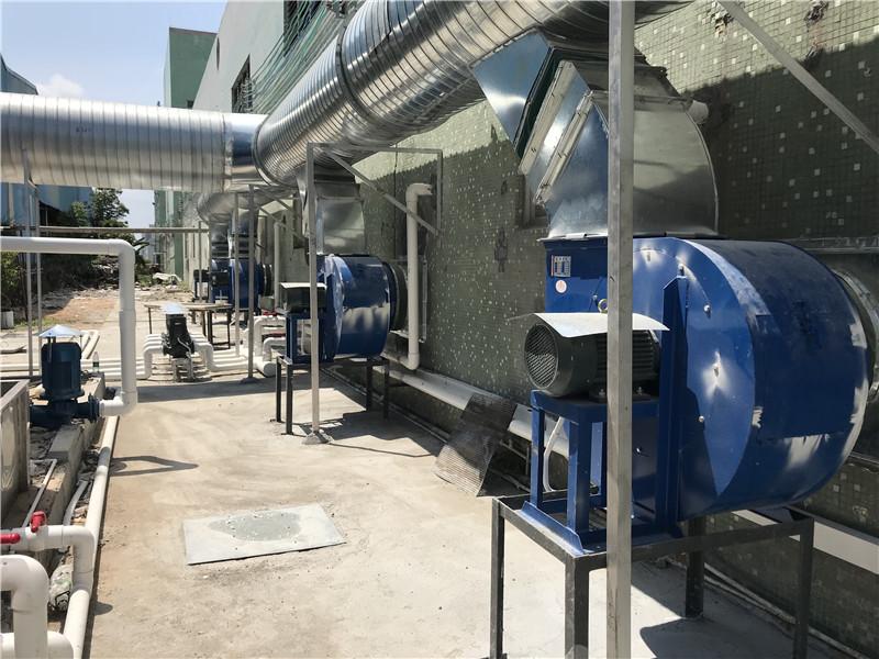 净化塔系统合作找亿骏机电工程