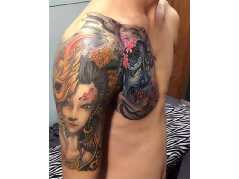 福建无痛遮盖纹身哪家好-68纹身专业的遮盖纹身推荐
