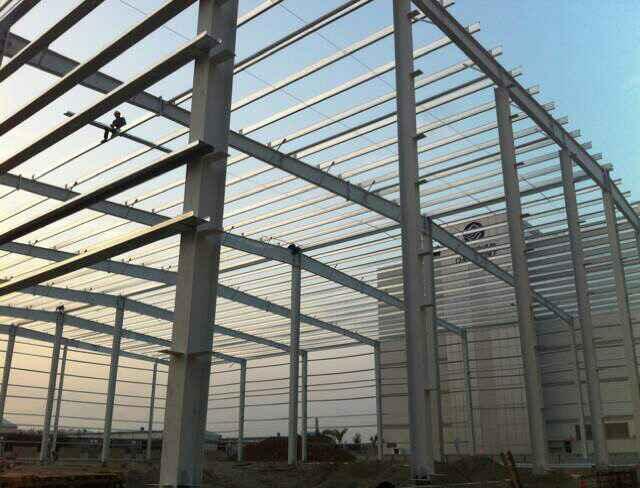 上海鋼結構工程安裝-昆山鑫德祥提供的鋼結構工程材料口碑怎么樣