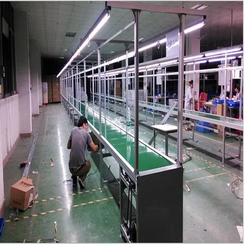 飞机位流水线加工精度-皮带流水线-东莞禾太工业设备厂倾力推荐