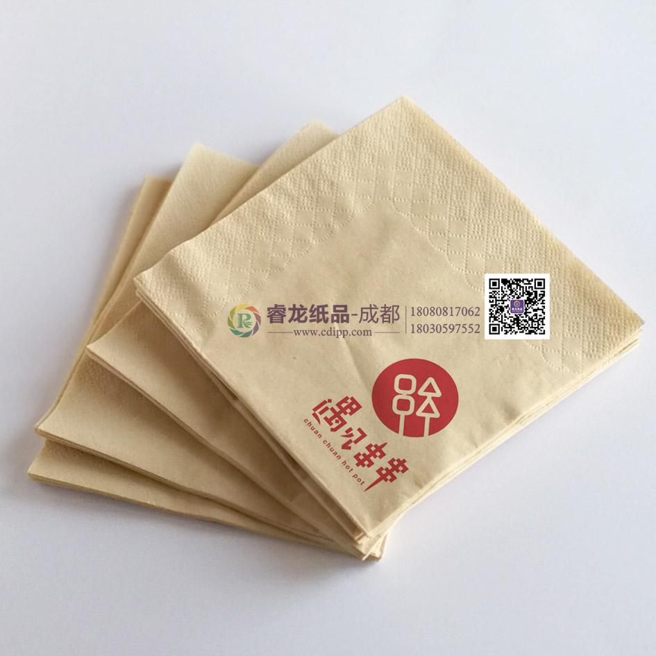 成都哪有銷售性價比高的盒裝印花餐巾紙?盒裝餐巾紙供應廠家