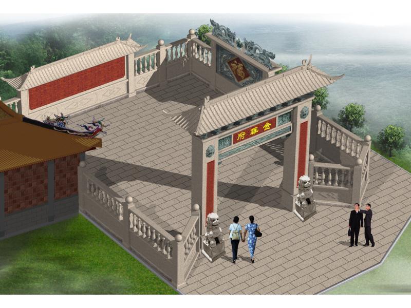古建山門設計