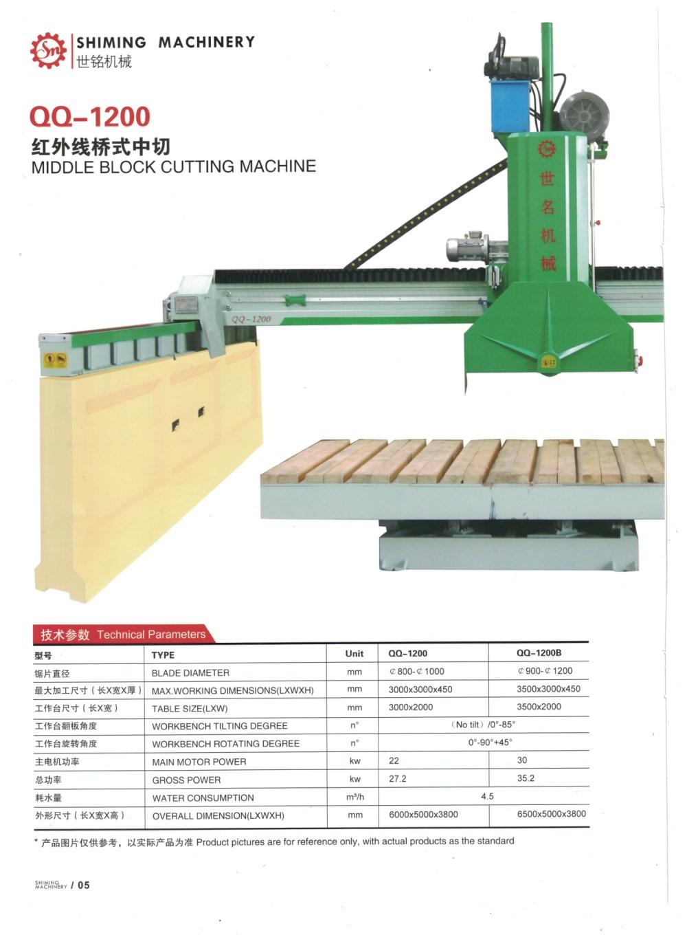 正大石材切割機-世銘機械紅外線切石機行情價格