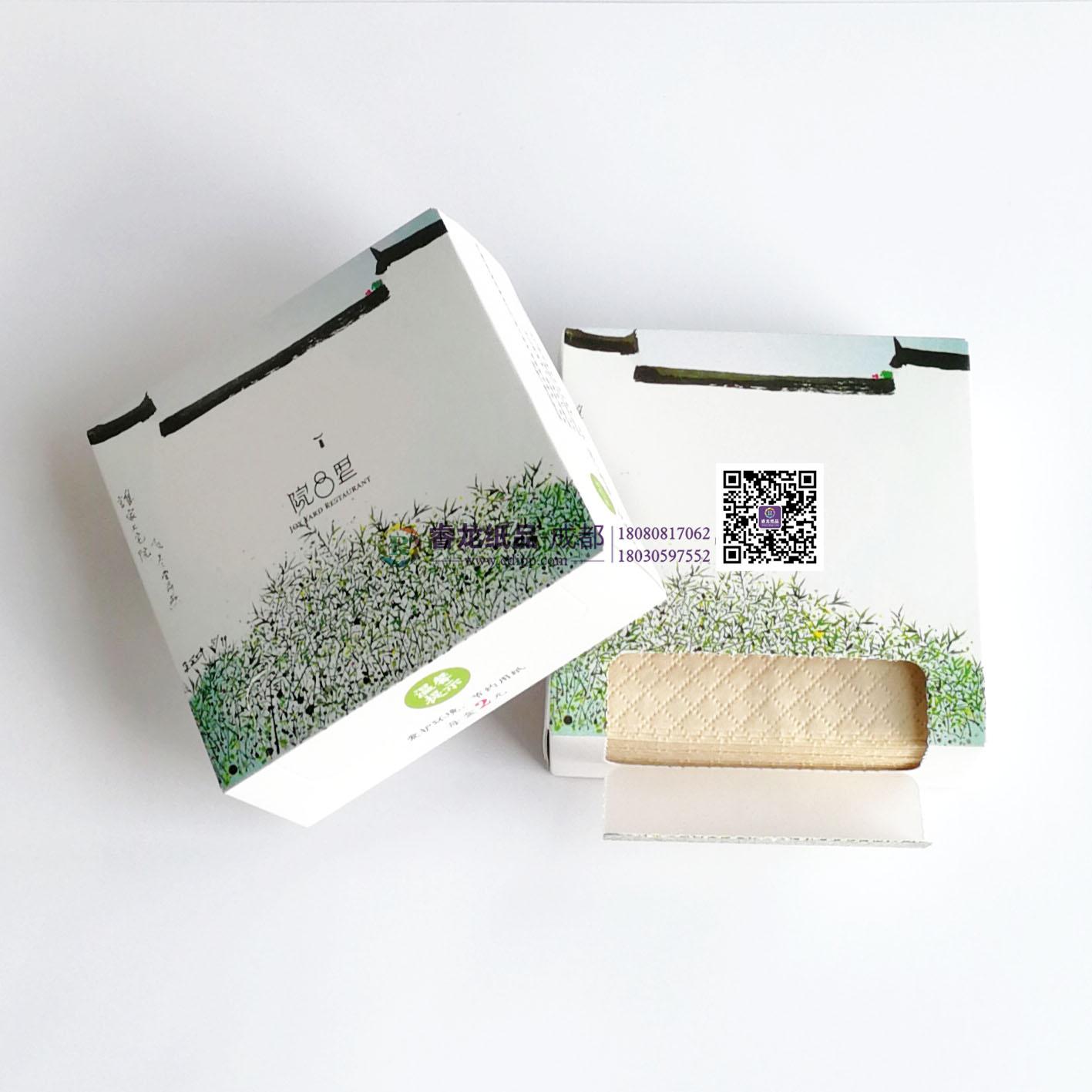 成都纸巾厂家…成都睿龙纸品…成都盒装抽纸【定做原生木浆纸巾】