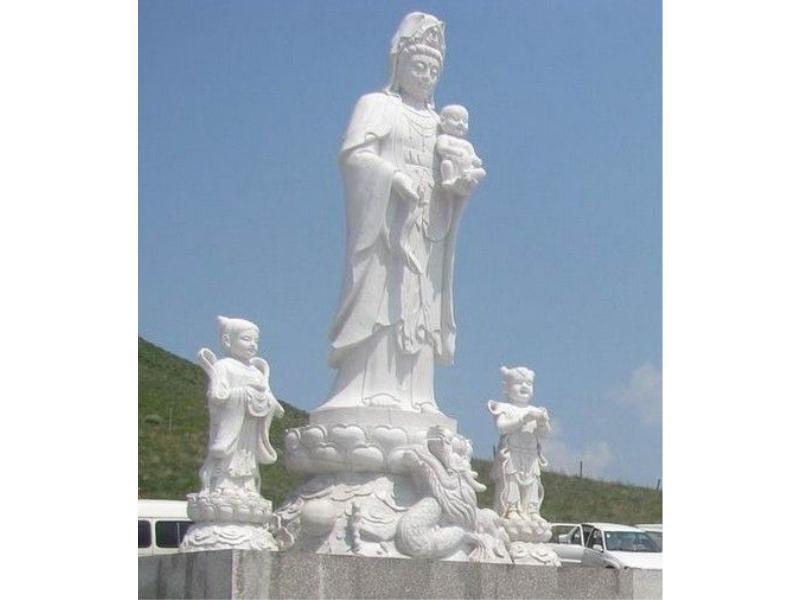 观音石雕厂家-超值的观音石雕推荐