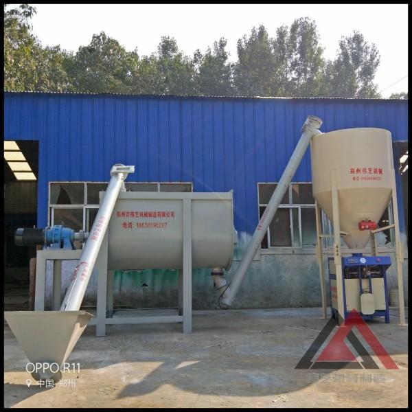 瓷砖胶生产线灌浆料生产设备伟艺机械