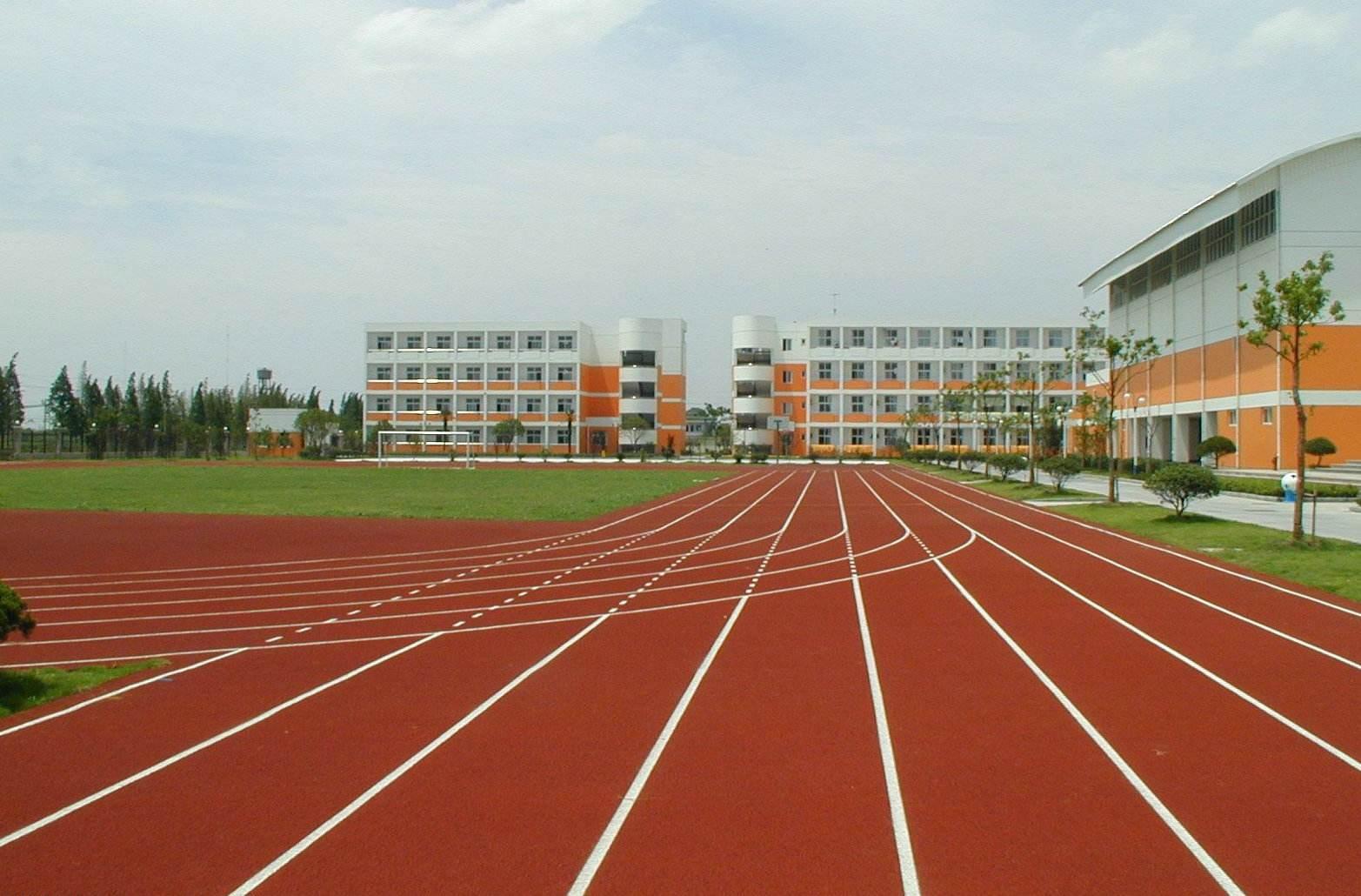 大上实业跑道施工铺设设计信息 -小区PU塑胶跑道公司