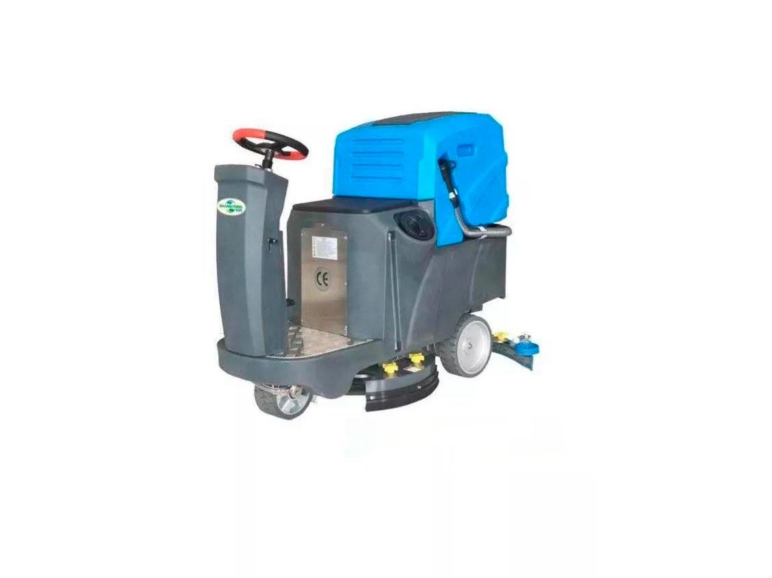 专业的驾驶室洗地机尚勇环保供应-济源迷你驾驶式洗地机报价