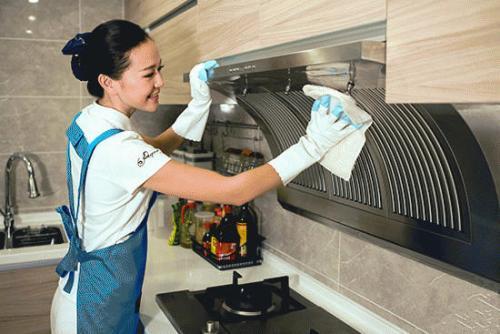 青岛保洁清洗专业公司_黄岛管家婆家政-油烟机清洗哪家好