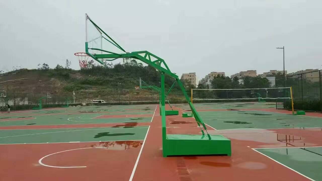 河北籃球架廠家值得信賴,雞西平箱籃球架