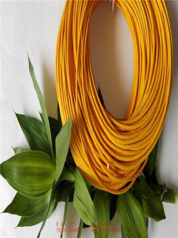 彩色包蕊纸绳厂家自产自销