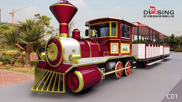 要买好用的观光小火车当选武汉蒂森科技_湿地公园观光小火车