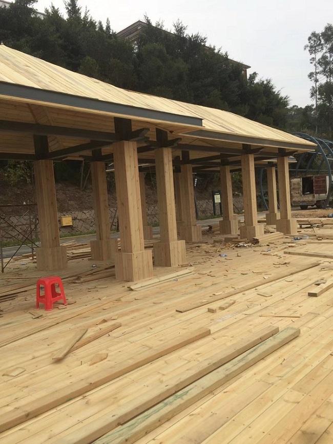 提供防腐木长廊-哪里可以买到新款福州防腐木长廊