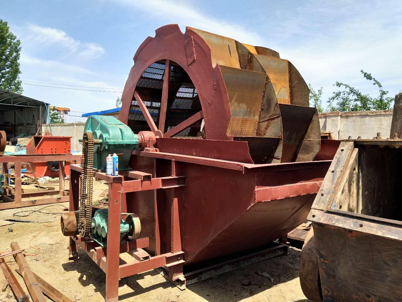 马牙沙制砂机 专业大轮洗沙机 二手破碎机 二手打沙机