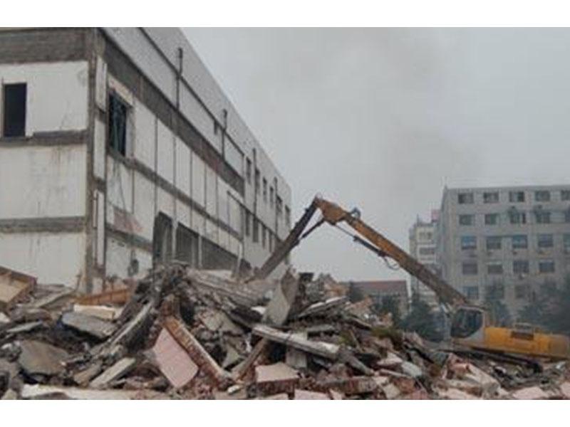 塑料厂拆除公司-福建旧房拆除公司