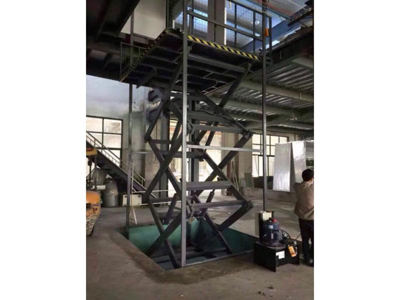 安装叉车属具公司-永邦机械载物货梯安装作用怎么样