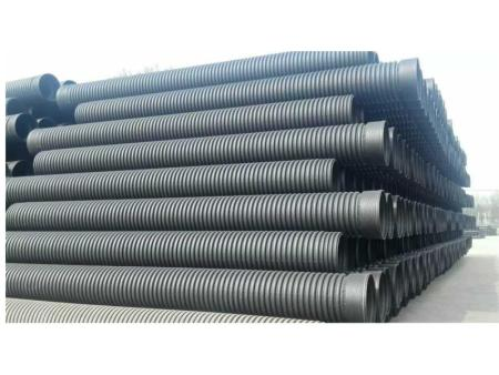 HDPE双壁波纹管批发|买韧性强的HDPE双壁波纹管就到伟财管业