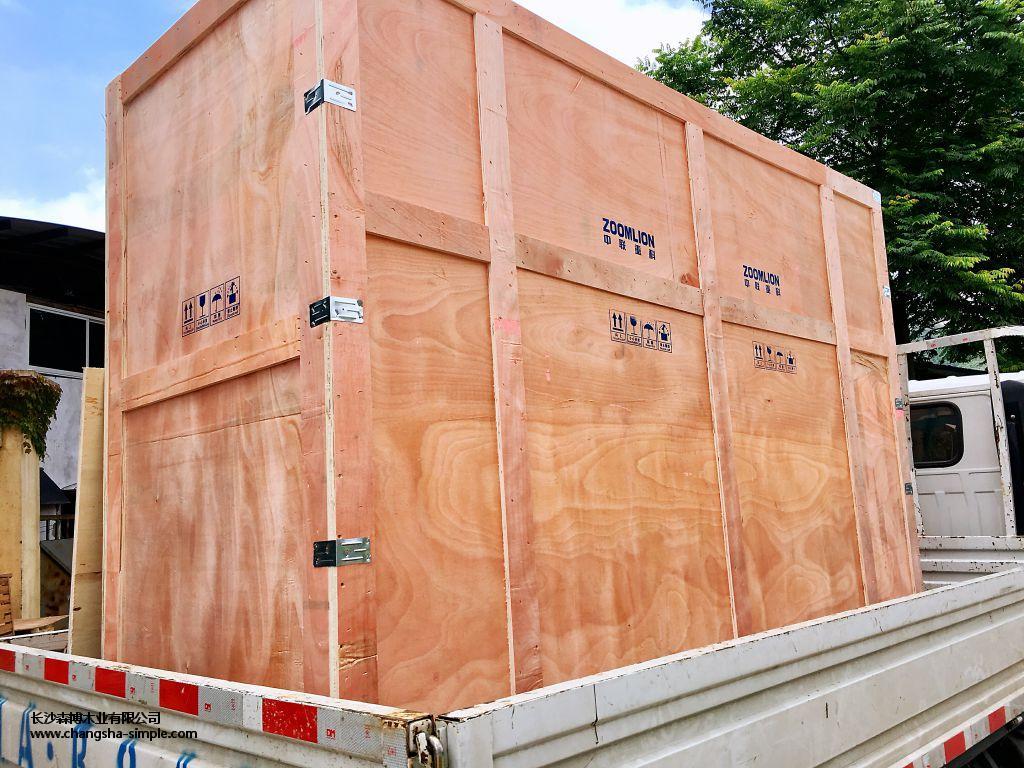 出口木质包装箱厂家推荐-森博木业专业生产长沙木质包装箱