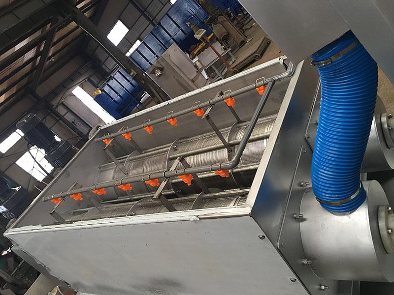 叠螺式污泥脱水机厂家//污泥脱水叠螺机定做