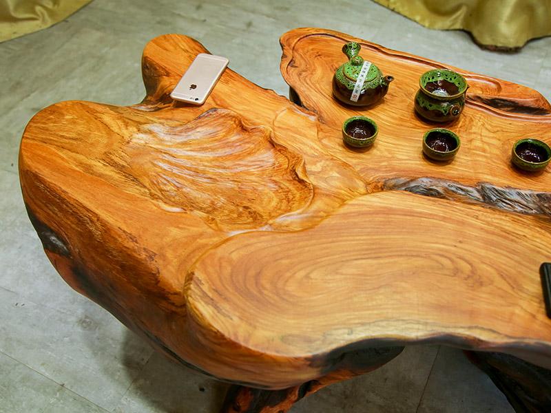 鸡翅木木头茶几-福州知名的根雕茶台批发商