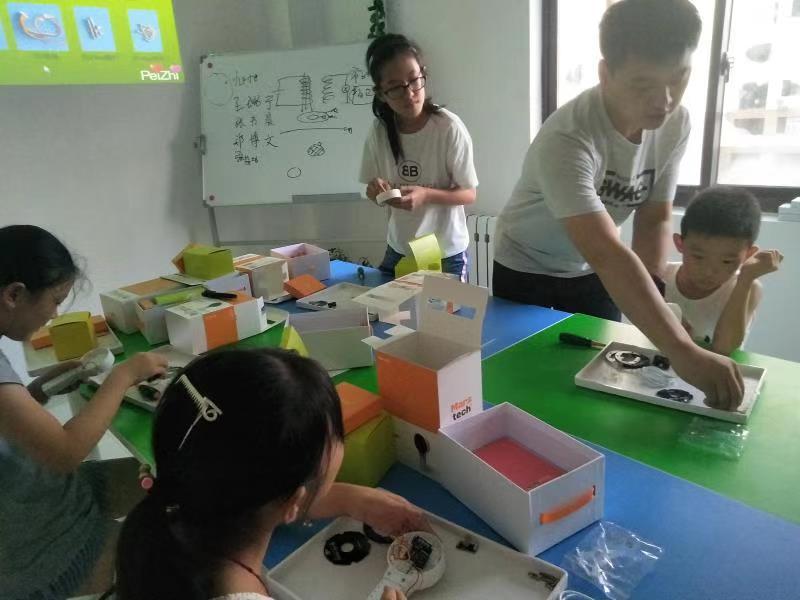 【培智科学营】莱山少儿智力开发_烟台机器人培训_3D打印培训