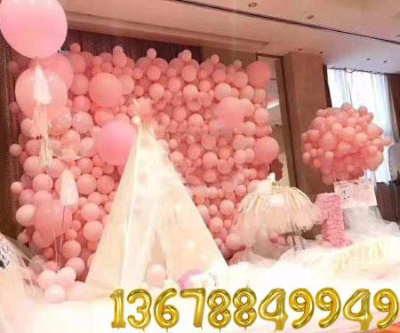青岛气球装饰造型气球圣诞老人视频