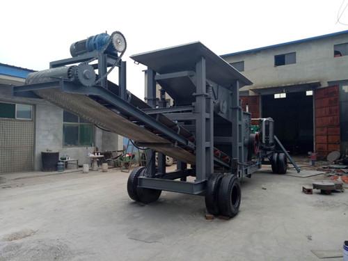 山东75吨移动式石头粉碎机厂家、价格-邢台金瑞通机械厂