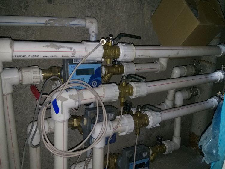 西安热量表暖气表工业超声波热能表IC卡水表法兰水表流量计