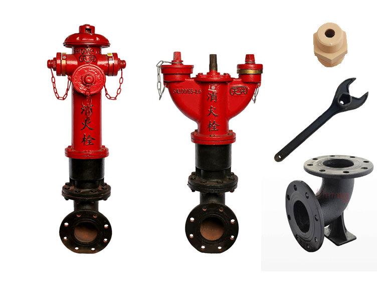 西安消防信号蝶阀地上地下消火栓水泵接合器湿式报警阀