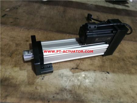 黑龙江折返式电动缸定制|普拓机械折返式电动缸行情价格