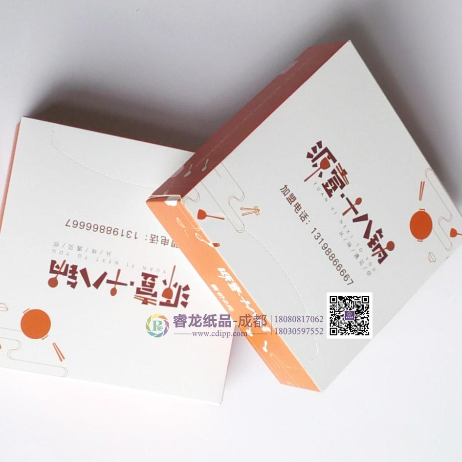 成都品质优良的盒装印花餐巾纸推荐{四川盒装餐巾纸}供应厂家