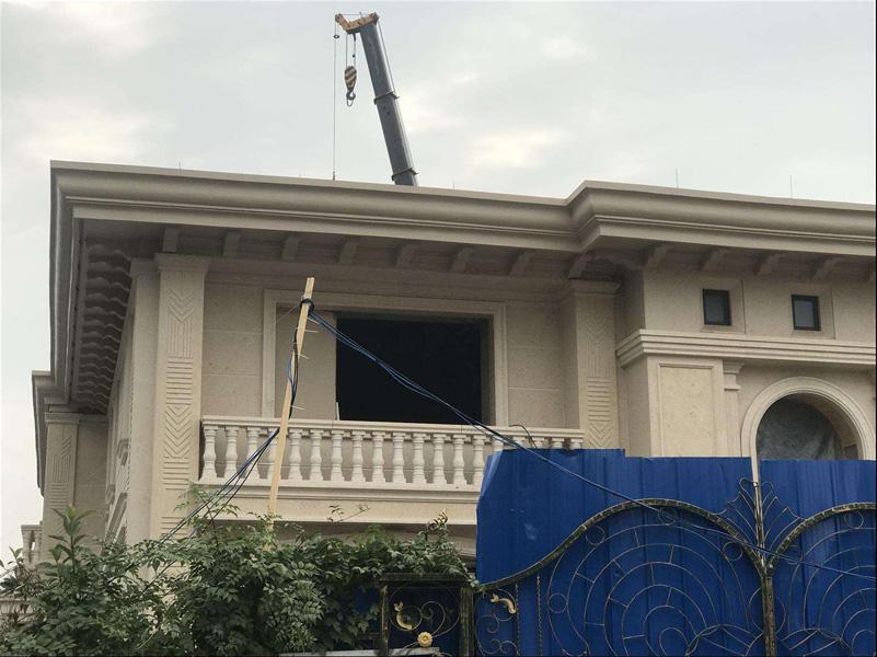 合肥eps装饰线条厂家凯顺建材生产直销安装建筑外墙线条工程