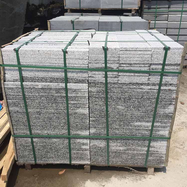 烧面芝麻白石材供货厂家-优良的烧面芝麻白石材尽在大明石材