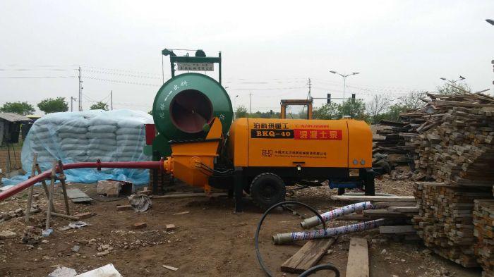 混凝土輸送泵廠家 選購超值的細石混凝土泵就選泊科琪機械制造