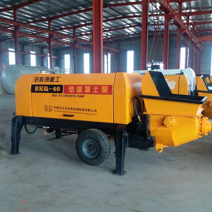 细石混凝土拖泵配件-供应河北价位合理的混凝土细石泵