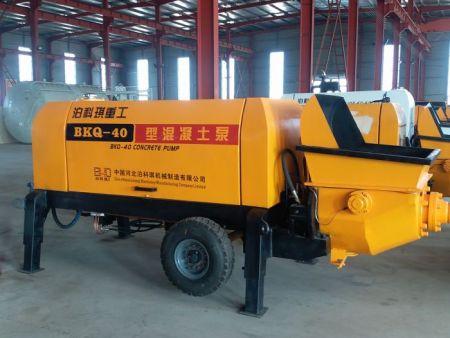 細石混凝土拖泵配件-供應河北價位合理的混凝土細石泵