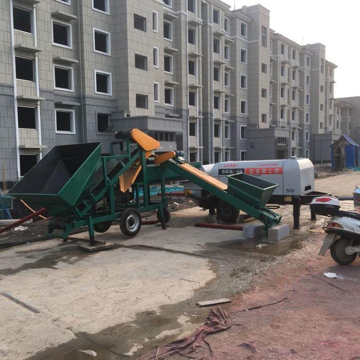 河南混凝土拖泵-邢台耐用的小型混凝土拖泵批售