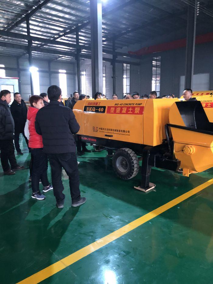 天津水泥砂浆泵-泊科琪机械制造提供合格的细石混凝土泵