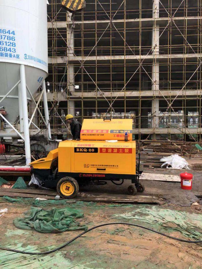 细石混凝土泵型号-邢台哪里有价格合理的小型混凝土拖泵