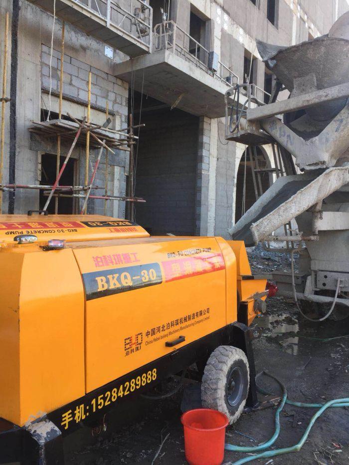 细石砂浆混凝土输送泵|口碑好的泊科琪35型细石混凝土泵供销