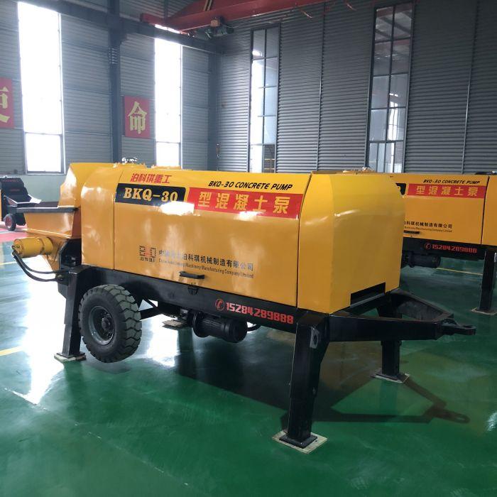 小型混凝土地泵图片_泊科琪机械制造供应好的泊科琪35型细石混凝土泵
