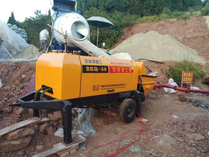 混凝土输送泵工作原理|质量良好的细石混凝土泵供销