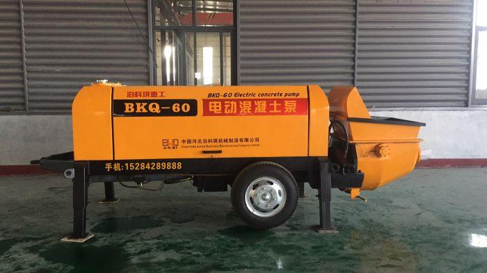 農建泵功能-泊科琪機械制造農建混凝土拖泵廠家直銷